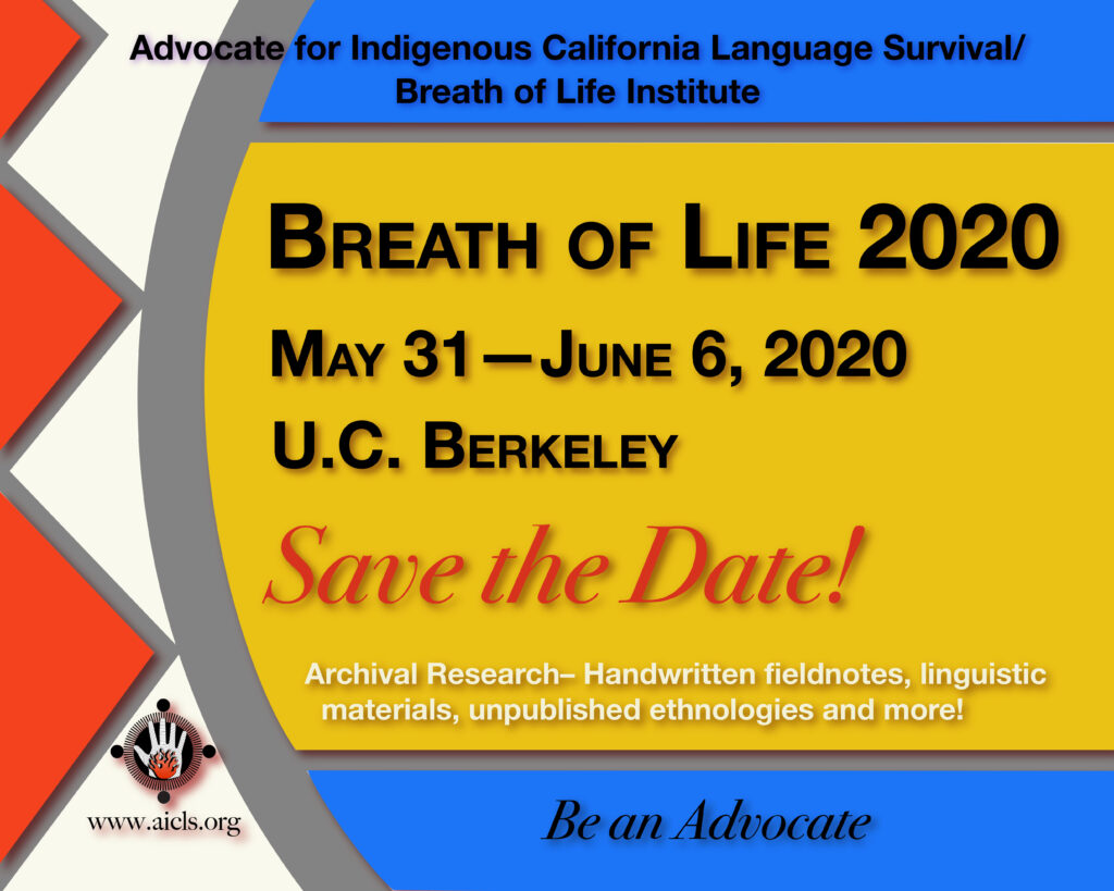 Breath Save Date 2020